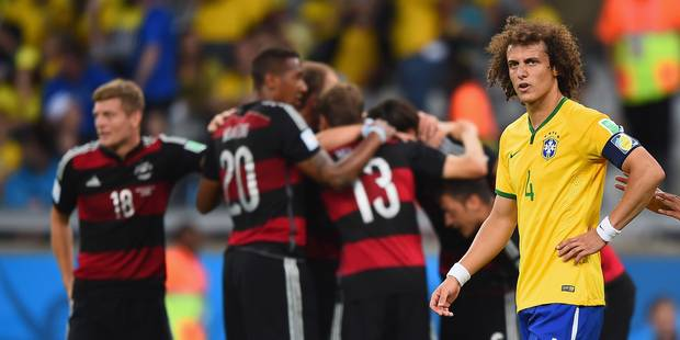 Brazil 1 Germany 7 - Luiz