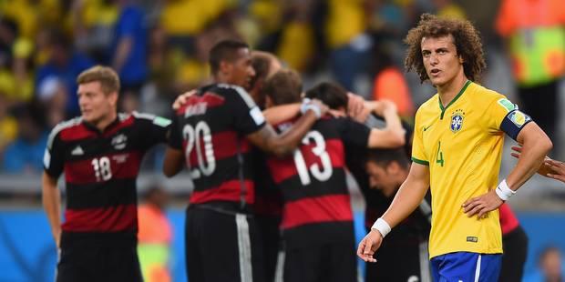 Brazil 1 Germany 7 - Luiz