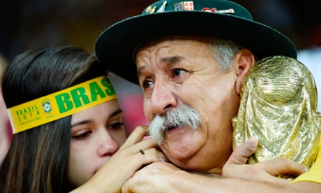 Brazil v Germany, 2014 FIFA World Cup football match, Semi Final, Arena De Sao Paulo, Sao Paulo, Brazil - 08 Jul 2014