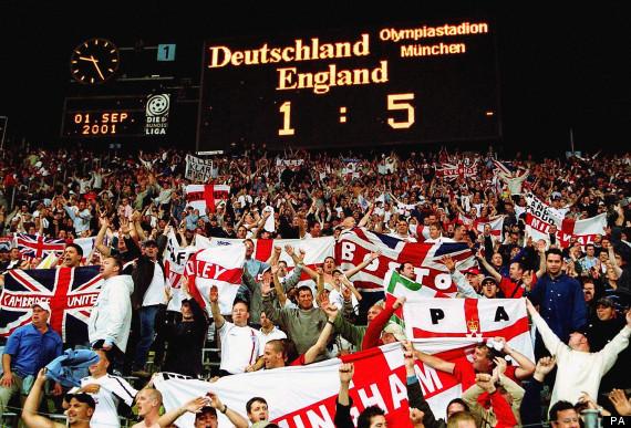 Soccer - World Cup 2002 Qualifier - Group Nine - Germany v England