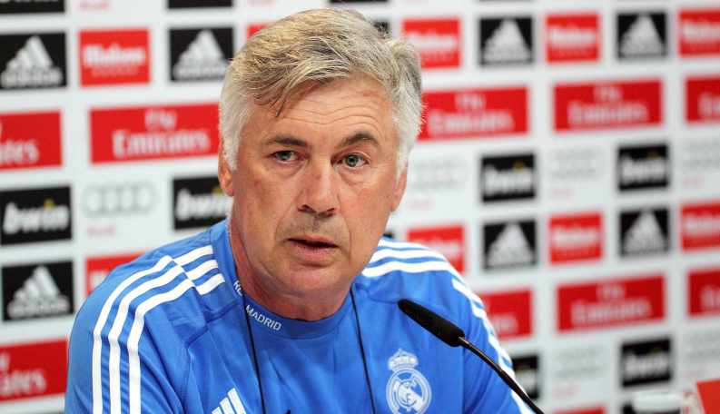 Real Madrid manager Carlo Ancelotti