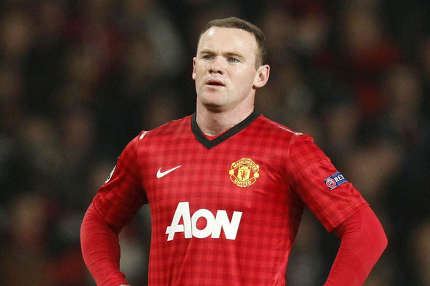 Rooney - unhappy in a wide position