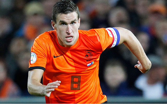 Kevin Strootman's injury posed a problem for van Gaal's Dutch national team