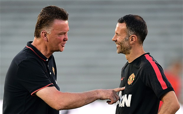 pointing the way forward? Van Gaal and Giggs