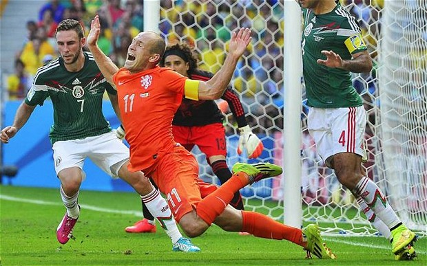 Arjen Robben in the world Cup