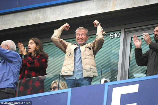 Commercial success can only add to Chelsea's on field power - and more celebrations for the club's owner.