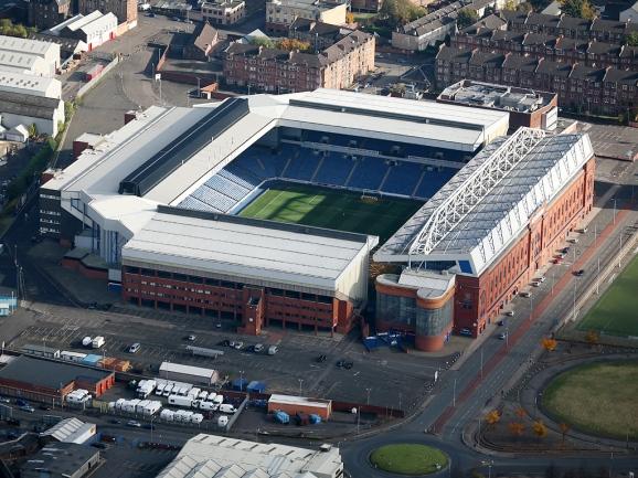 Ibrox - Rangers' iconic home.