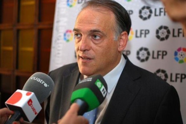 "Javier Tebas, ""can't see La Liga without Barca."""
