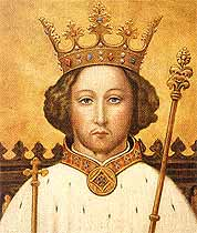 An image of Richard II - Any resemblance to a particular football manager is purely coincidental