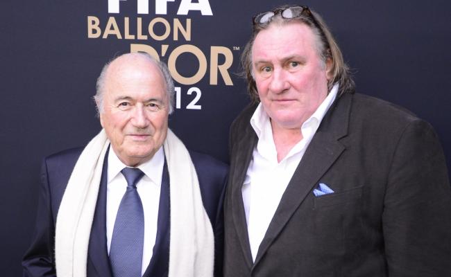 Is it harsh to say the portrayal of Jules Rimet by Depardieu may have been slightly less flattering than Roth's depiction of Blatter?