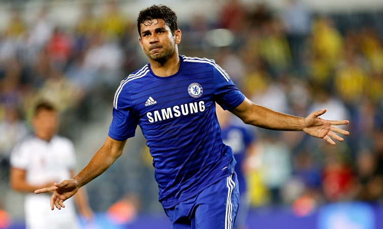 Diego Costa's goals have propelled Chelsea to the top of the Premier League.