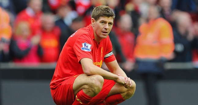 Gerrard has often looked dispirited as last season's high standards have fell away.