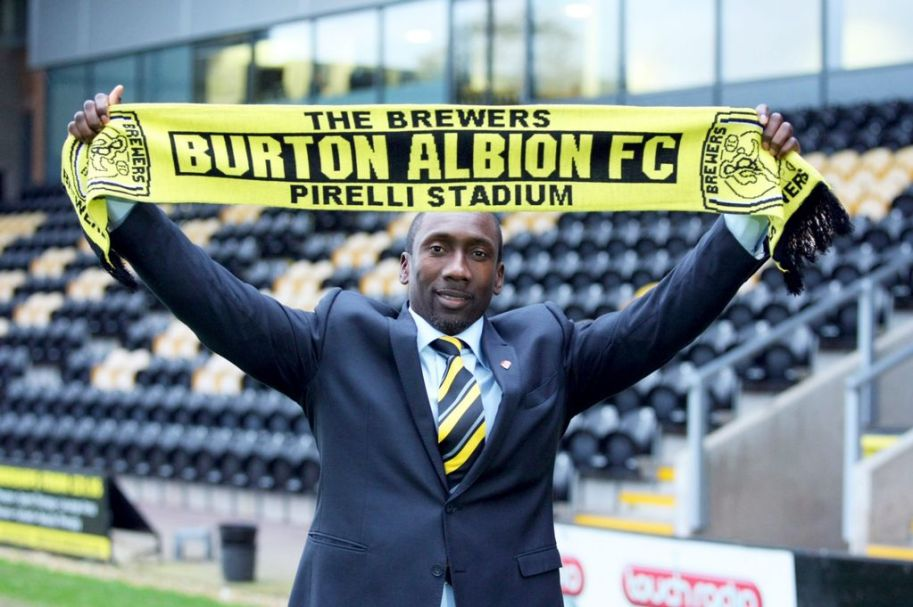 Burton Albion is the club Hasselbaink was looking for.