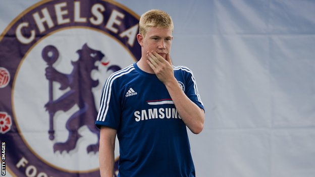 Did de Bruyne get a fair chance with Chlesea?
