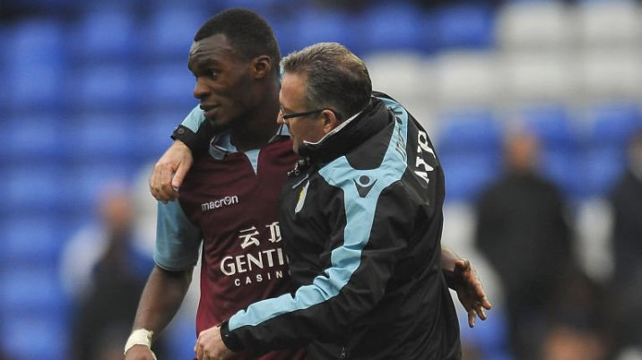 Paul Lamber persuaded Benteke to sign a new contract with Villa, despite big money offers to move elsewhere.