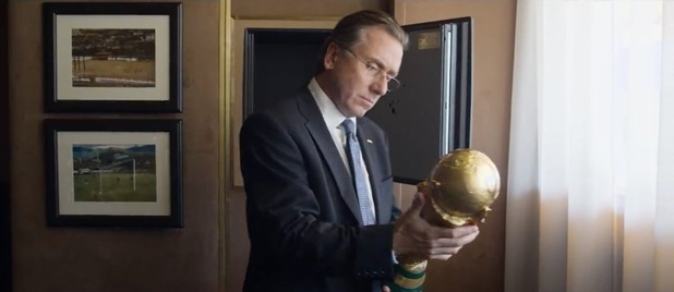 Sepp blatter approved of Tim Roth's role as the head of Fifa - I bet he did!