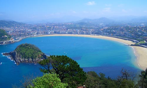 Real Sociedad are based in the beautiful Basque city of San Sebastien