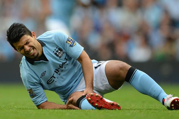The anguish and pain on Sergio Aguero's face told of the severity of his injury.