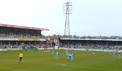 Hereford United's Edgar Street ground has seen better days, but what lies ahead?