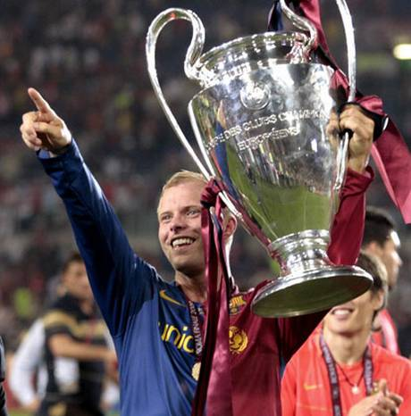Gudjohnsen won European glory with Barcelona