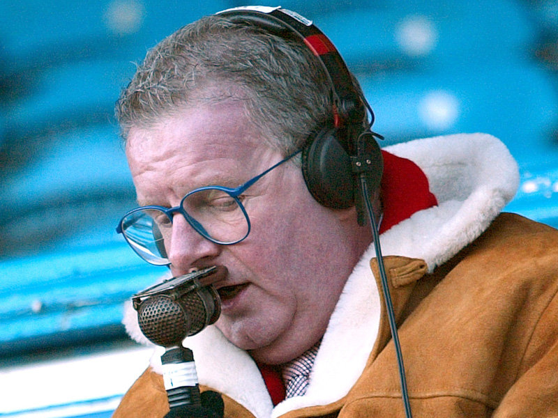 Motty, doyen of the sheepskin coat and microphone, believes there's still a place for MoTD