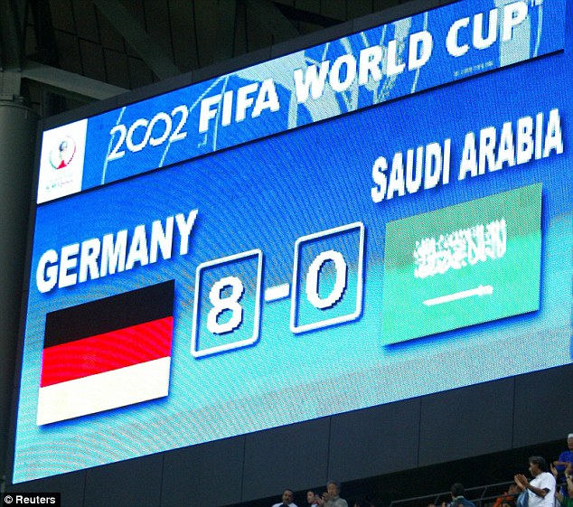 Relations between Germany and Saudi Arabia have been far closer in non-football circles.