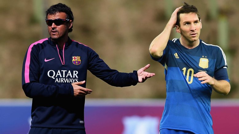 The relationship between Luis Enrique and Lionel Messi appears less than perfect. If forced to choose, would the club back their manager or their star player?
