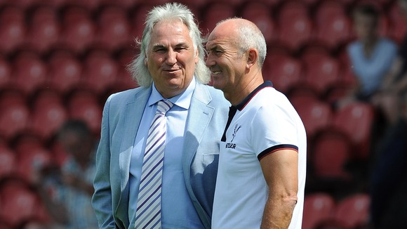 Despite any potential fashion disasters, Pulis and Francis is a long-term working relationship