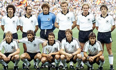 The 'confident' West Germany team believed Algeria would pose little threat to their aspirations.