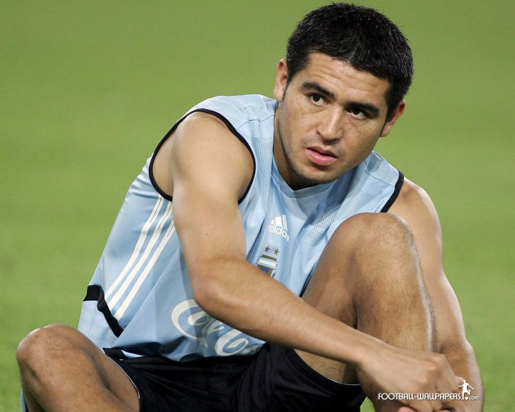 Juan Roman Riquelme had his own philosophy about football.