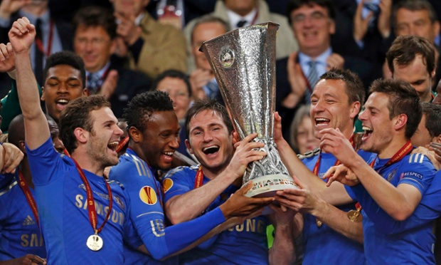 Chelsea players certainly seemed happy enough to lift the trophy.