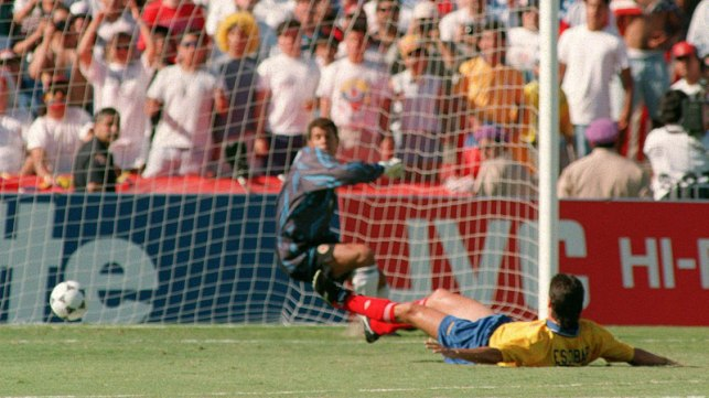 The moment that may have doomed Andres Escobar