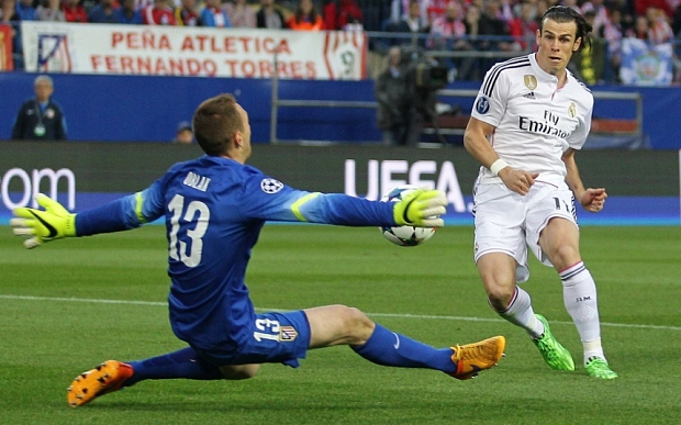 And Bale must score! but what was going through his mind as he struck the ball?
