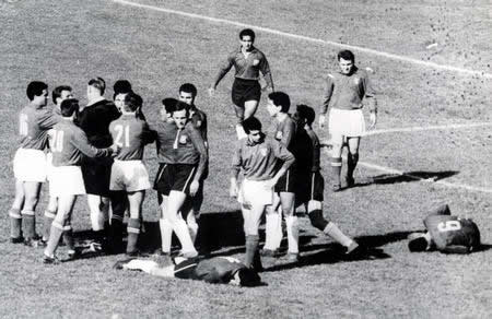 The Battle of santiago in 1962 had shamed football. The Italian team required redemption.