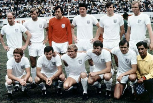 The England team still had many stars from the victory of 1966, and were considered one of the favourites for the tournament.