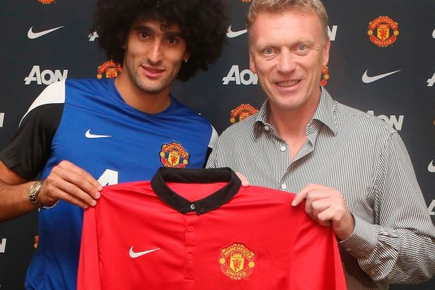 Ill-fated David Moyes took Fellaini to United from his old club.