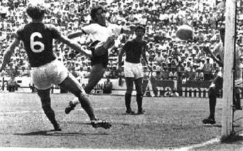'Der Bomber' scores the winning goal to finish off England. did it also affect Harold Wilson's premiership?