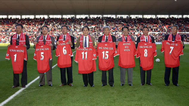 The day that the 'Chollimo' players of North Korea returned to heroes' welcomes at Middlesbrough.
