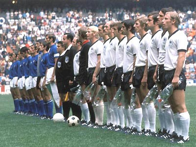 Italy v West Germany 1970