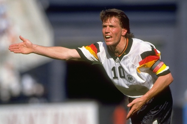 Lothar Matthaus of Germany